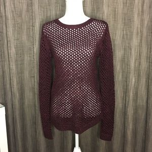 Apt 9 plum sweater